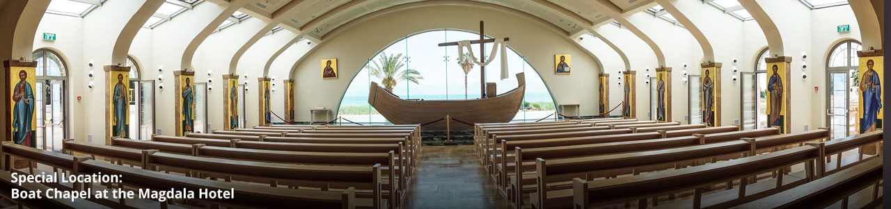 Boat Chapel at the Magdala Hotel